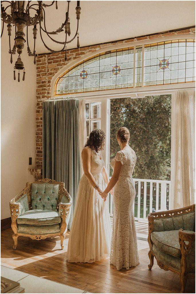 Los Alamos Union Hotel Wedding Couple